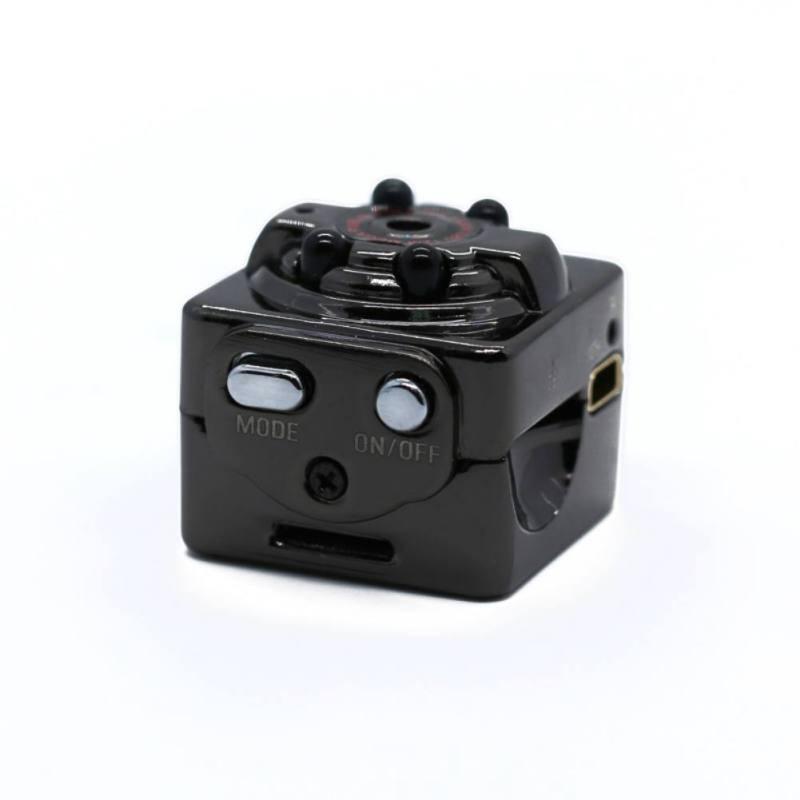 SQ8 Small Camcorder 720P / 1080P High Definition Night Vision Portable Video Recorder Sports DV Mini Camera Support 32G TF Card
