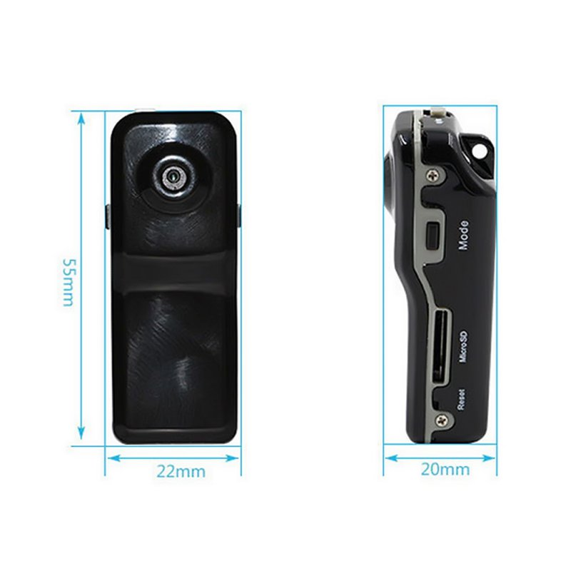 MD80 Mini Camcorder Support Net-Camera Mini DV Record Camera Support 8G TF Card 720*480 Vedio Lasting Recording Cam High Quality