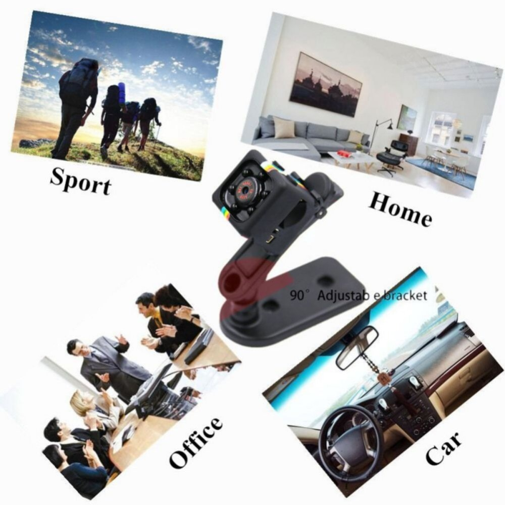 NEW 1080P SQ11 Mini Camcorders Sport DV Mini Camera Sport DV Infrared Night Vision Camera Car DV Digital Video Recorder