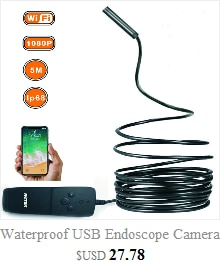 3 in1 Waterproof Endoscope Camera Android 720P Borescope Camera USB Type-C Endoscope 7mm mini camera For smartphone 0J