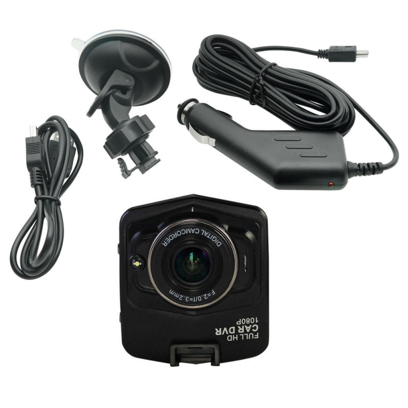 Mini Camcorder HD Car DVR Camera Voice Video Recorder Night Vision G sensor 12 Million Pixel With 2.4'' High-resolution Display