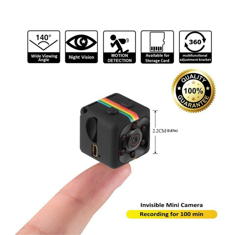 Outdoor Original  Camera SQ11 SQ12 SQ13 Mini Camera FULL HD 1080P Night Vision Waterproof shell CMOS Sensor Recorder Camcorder