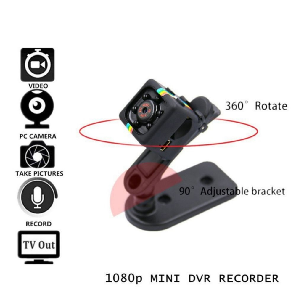 480 P / 1080 P mini camera sports DV mini camera sports DV infrared night vision camera car DV digital video recorder sd