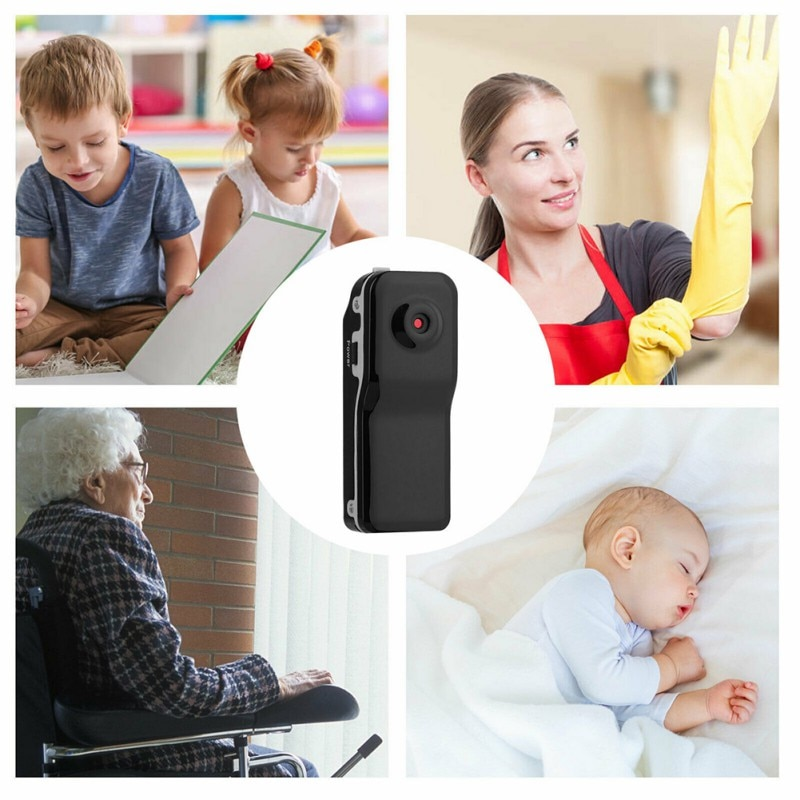 MD80 Mini Camera HD Motion Detection Car DV DVR Video Recorder Security Camcorders
