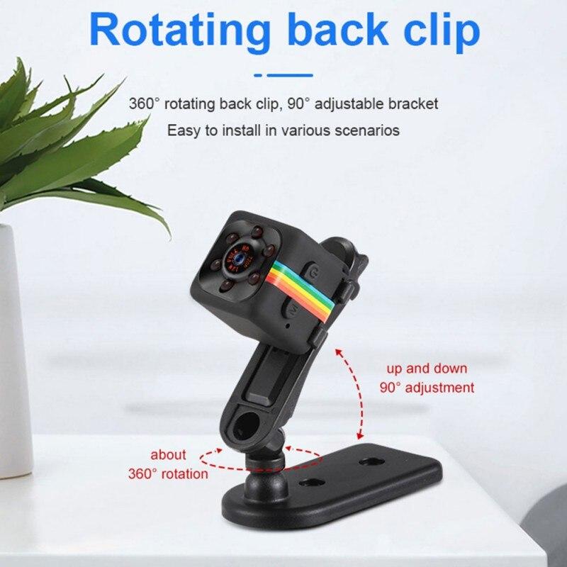 new SQ11 720P Mini Camera Infrared Night Vision Camcorder Car DV Digital Video Recorder Motion Detection Cam