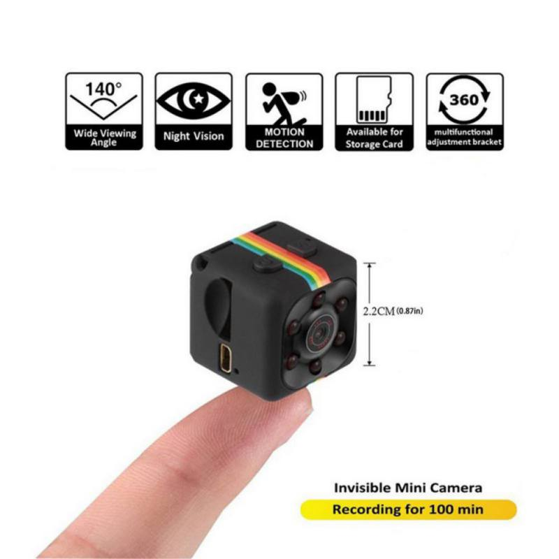 Mini Camera with Box SQ11 480*640 DV Mini Camcorders Sport Camera Car DVR Night Vision Video Voice Recorder Micro Action Cam