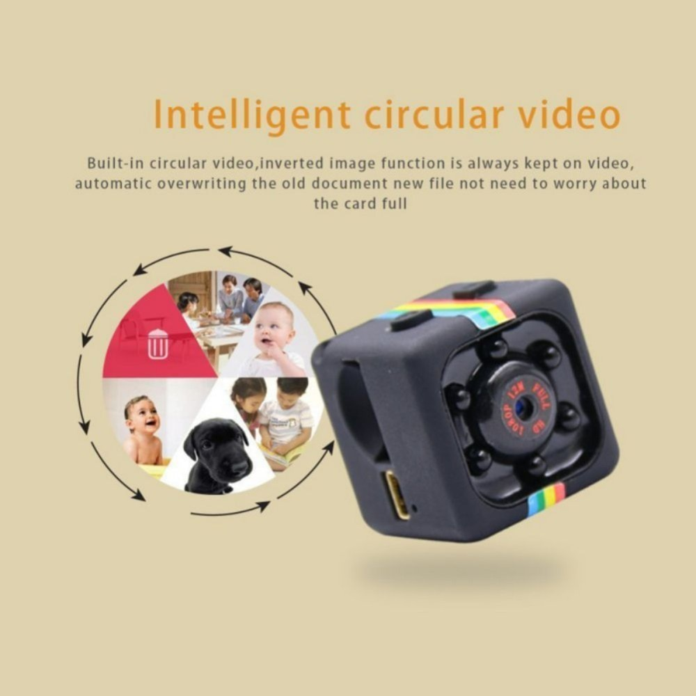 SQ11 1080P Mini Camcorders Sport DV Mini Camera Sport DV Infrared Night Vision Camera Car DV Digital Video Recorder