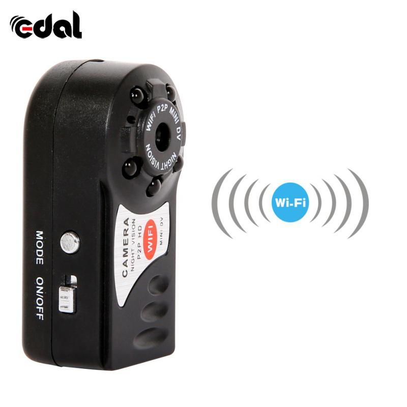 Mini Q7 Camera 480P Wifi DV DVR Wireless IP Cam Brand Video Camcorder Recorder Infrared Night Vision Dropshipping