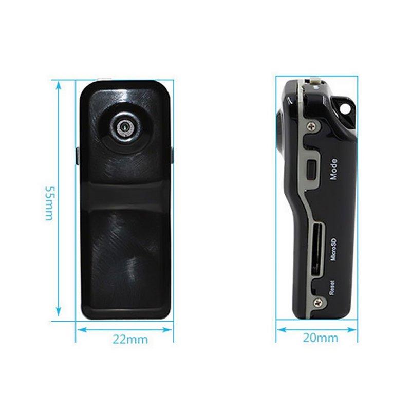 Mini MD80 Camcorder Support Net-Camera Mini DV Record Camera Support 8G TF Card 720*480 Vedio Lasting Recording Cam