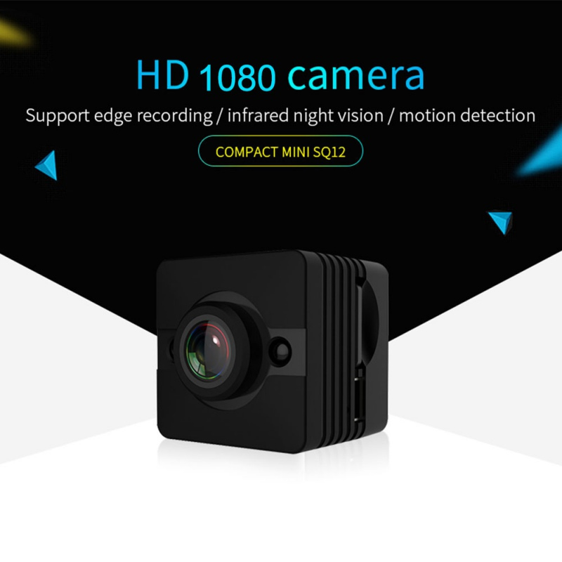 Original Outdoor Camera SQ11 SQ12 SQ13 Mini Camera FULL HD 1080P Night Vision Waterproof shell CMOS Sensor Recorder Camcorder