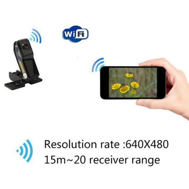 MD81S IP Network Surveillance Camera Wireless WiFi mini Network Camera Family Security Car Camcorders with Card Reader