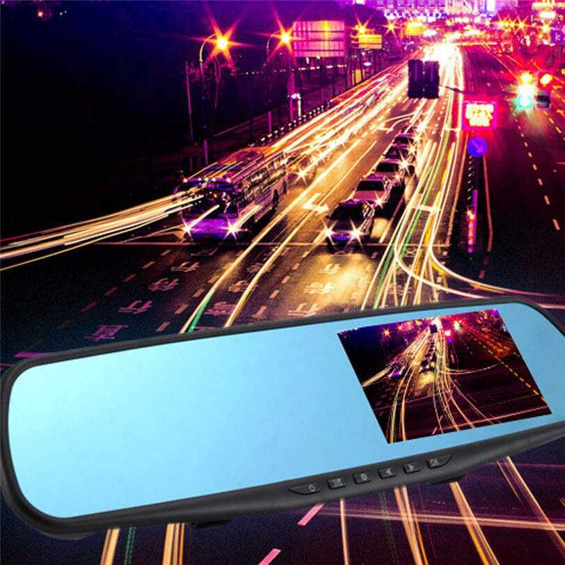 Full HD 1080P 2.8 Video Recorder Dash Cam Rearview Mirror Camera DVR May29 Factory price 2019