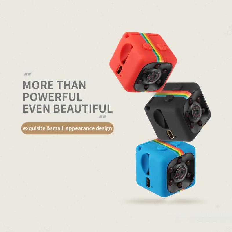 SQ11 HD 480P/1080P Mini Camera Sensor Night Vision Camcorder Motion DVR Micro Camera Sport DV Video Cam With Original Box W