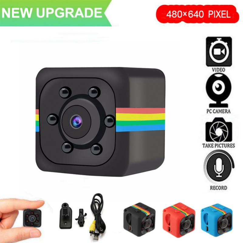 SQ11 480*640 DV Mini Camcorders Sport Camera With Box Car DVR Night Vision Video Voice Recorder Micro Action Cam