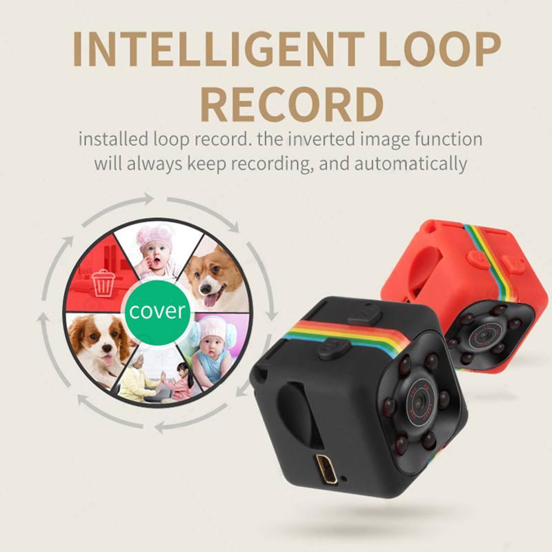 Original Mini Camera SQ11 640*480P Sport Car Surveillance Camera DV DVR Night Vision Video Voice Recorder Mini Action Camcorder