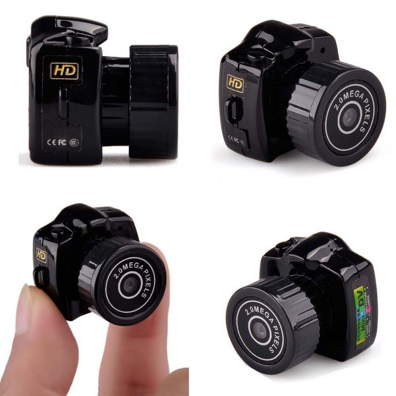 HD Mini Camcorder Micro Camera CMOS Night Vision Webcam DVR Motion DV Voice Recorder Video Mini Camera mini cpy cam with Mic