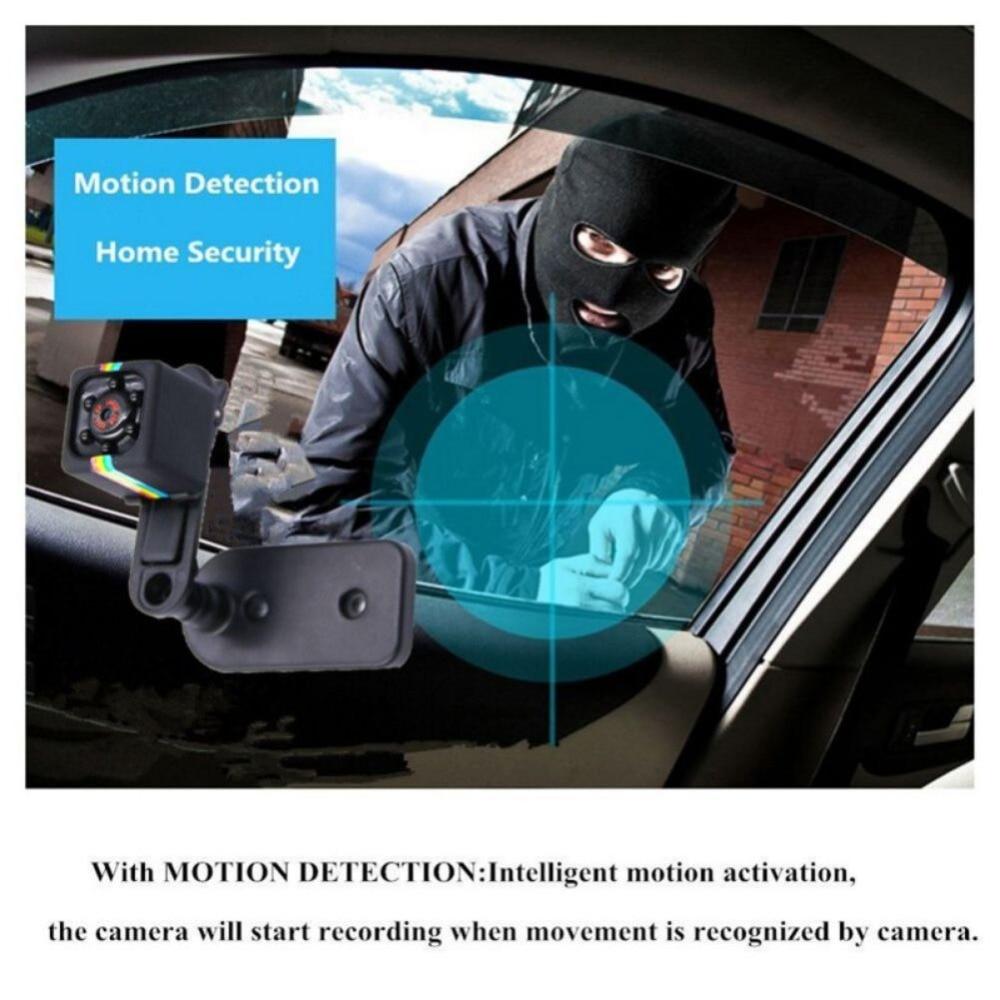 480P /1080P Mini Camera Sport DV Mini Camcorders Sport DV Infrared Night Vision Camera Car DV Digital Video Recorder TF Card Cam