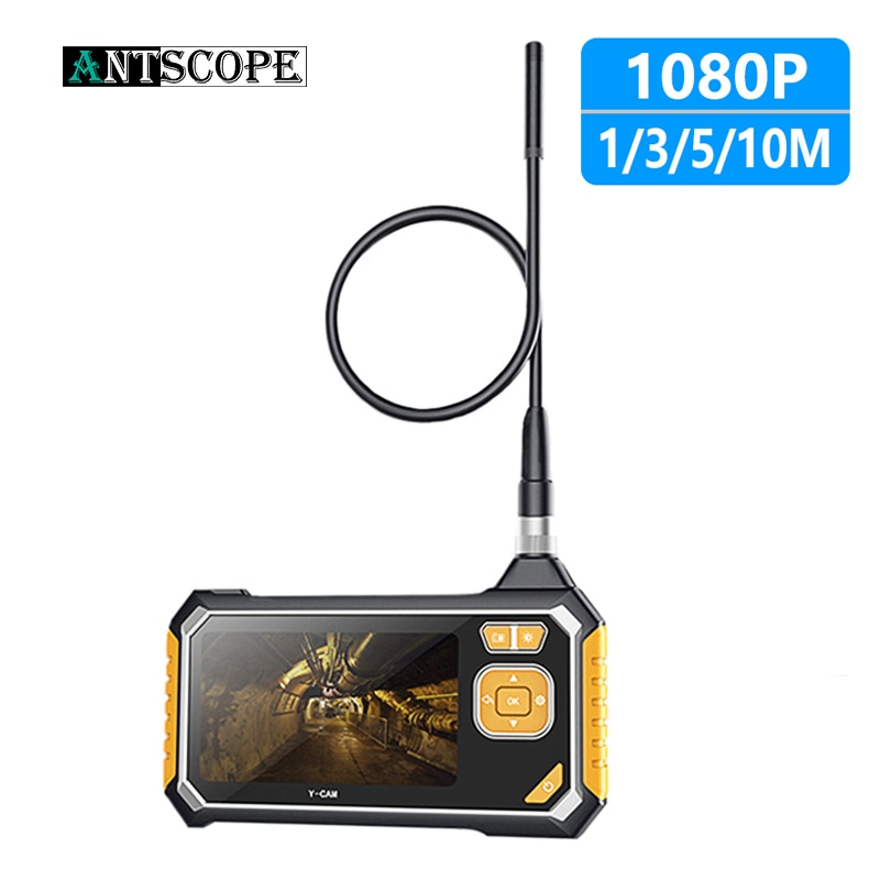 Antscope 4.3 inch Industrial Endoscope 1080P Inspection Camera for Auto Repair Tool Snake Hard Handheld Wifi Endoscope Android19