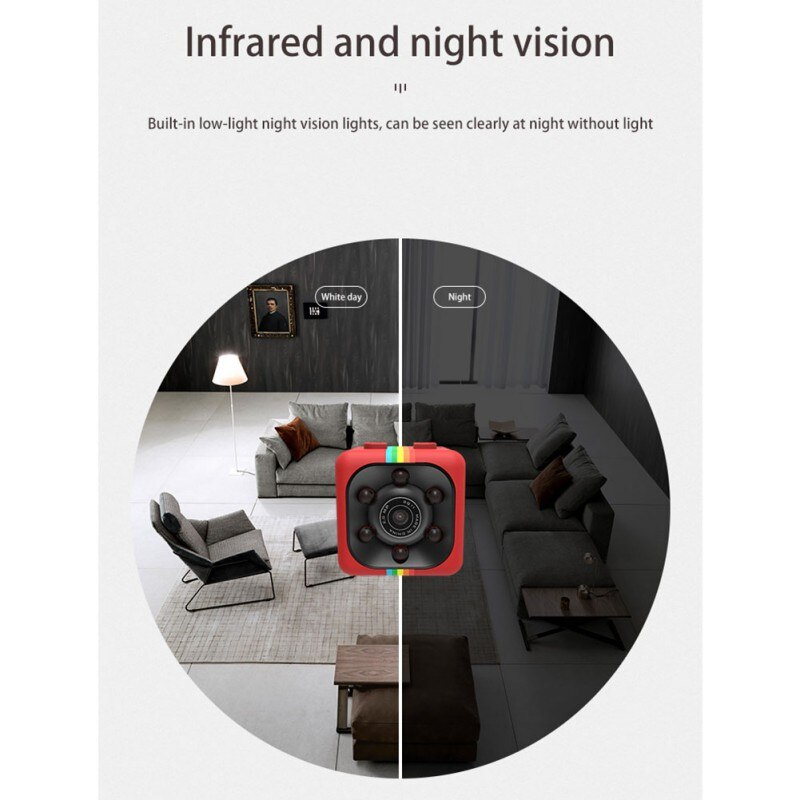 480P /1080P Mini Camcorders Sport DV Mini Camera  Sport DV Infrared Night Vision Camera Car DV Digital Video Recorder 11