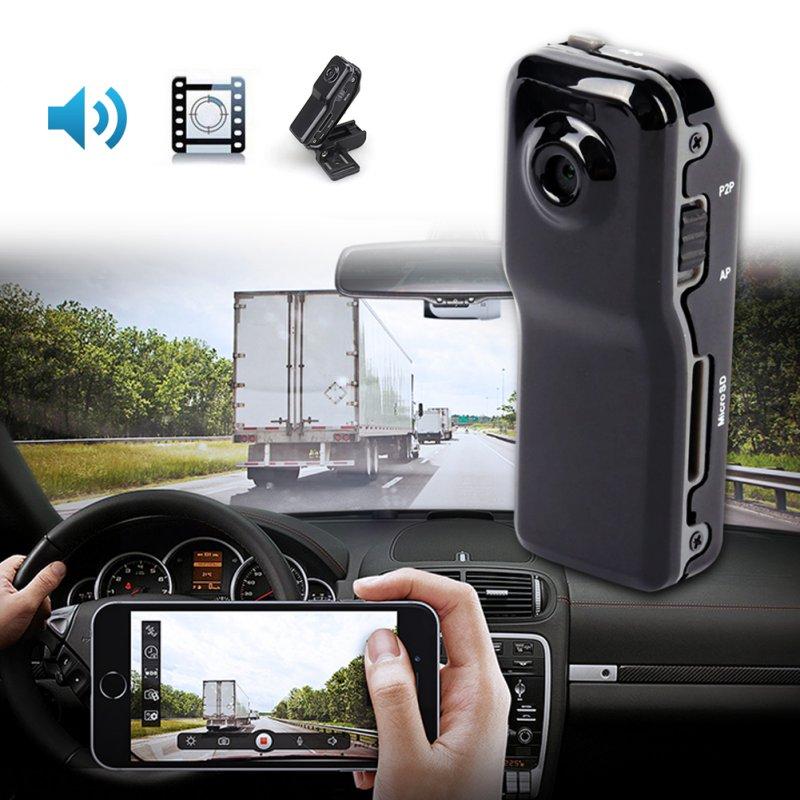 MD80 Mini Camera Support Net-Camera Mini DV Record Camera Support 8G TF Card 720*480 Vedio Lasting Recording Camcorders