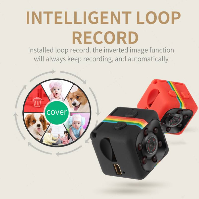 NEW 480P /1080P Mini Camcorders Sport DV Mini Camera Sport DV Infrared Night Vision Camera Car DV Digital Video TF Card Recorder