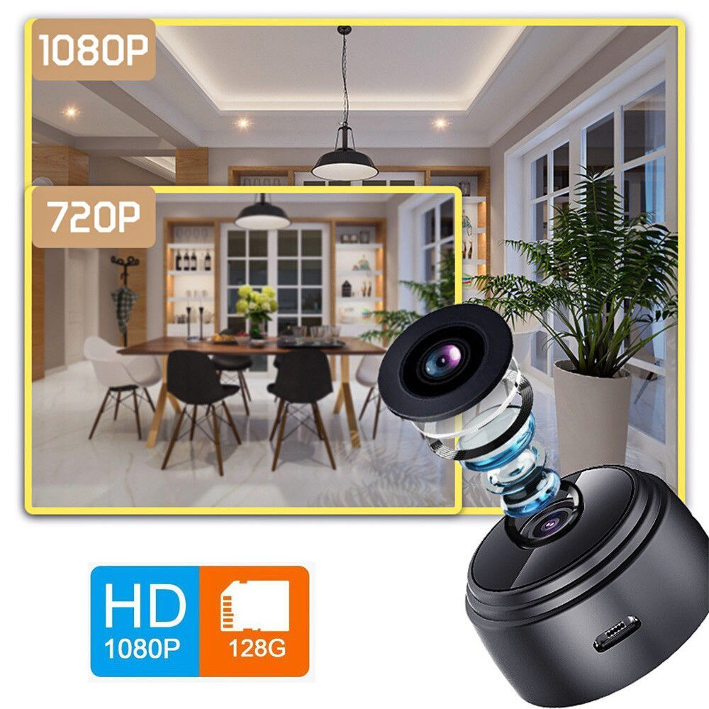Smart Camera 1080p Mini IP Camera Full HD Infrared WiFi Mini Sports Camera Wide Angle Motion Detection Home Security Camcorder