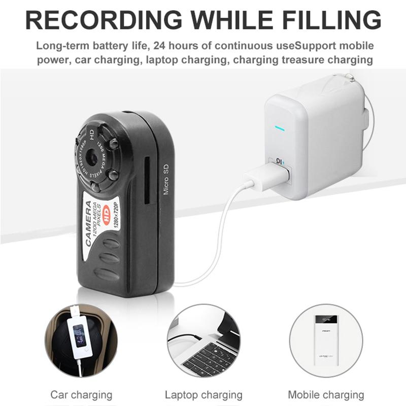 WiFi Camera 480P Mini Video Camcorder Wireless DV DVR IR Night Vision IP Cam Recorder Infrared Micro wifi Camera Home Security