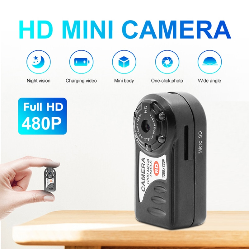 WiFi Camera 480P Mini Video Camcorder Wireless DV DVR IR Night Vision IP Cam Recorder Infrared Micro wifi Camera Home Security